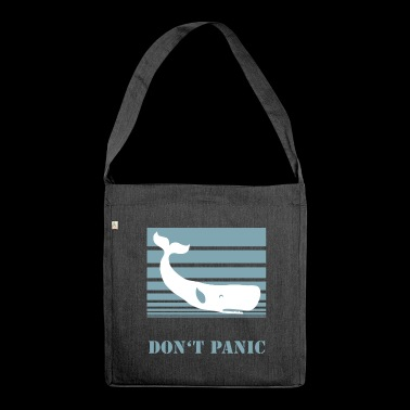 Do not Panic - Shoulder Bag made from recycled material