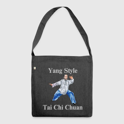 Tai Chi Chuan Yang Style - Shoulder Bag made from recycled material