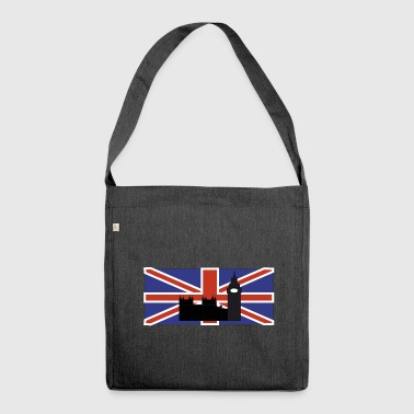 UNION JACK AND BIG BEN - Shoulder Bag made from recycled material