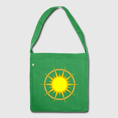 Full sun south cape - Shoulder Bag made from recycled material