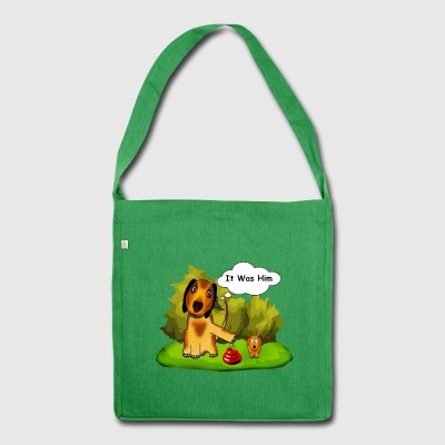 Dogs - Shoulder Bag made from recycled material