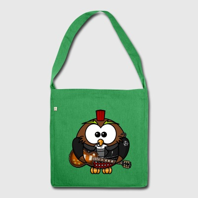 Jim the owl zikos - Shoulder Bag made from recycled material