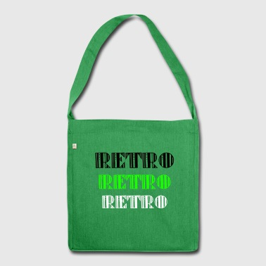 Retro Collections - Shoulder Bag made from recycled material