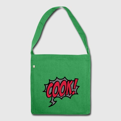 2541614 15928103 cookcartoon - Shoulder Bag made from recycled material