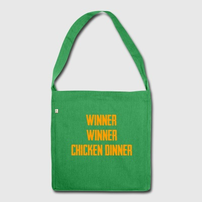 WINNER WINNER CHIKEN DINNER - ArtWork - Sac bandoulière 100 % recyclé
