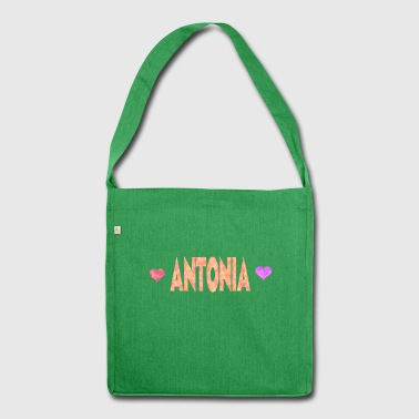 Antonia - Schultertasche aus Recycling-Material