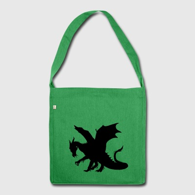 Dragon - Shoulder Bag made from recycled material