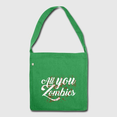 All you Zombies 4 - Schultertasche aus Recycling-Material