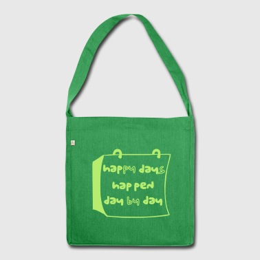 happy - Shoulder Bag made from recycled material