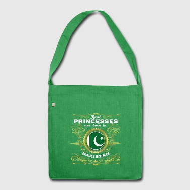 PRINCESS PRINCESS QUEEN BORN PAKISTAN - Shoulder Bag made from recycled material