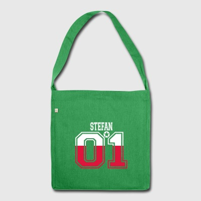 POLAND POLSKA 01 KING QUEEN BIRTHDAY Stefan - Shoulder Bag made from recycled material