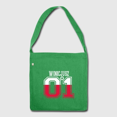 POLAND POLSKA 01 KING QUEEN BIRTHDAY Winicjusz - Shoulder Bag made from recycled material