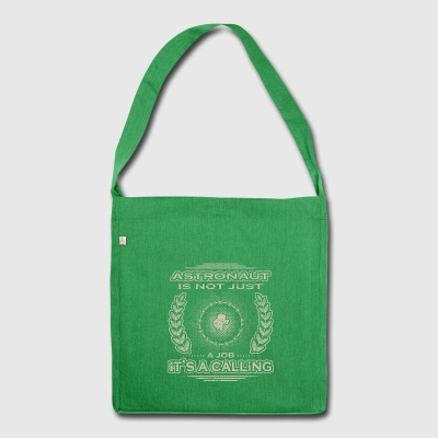 not a hobby calling job bestimmung Astronaut png - Shoulder Bag made from recycled material