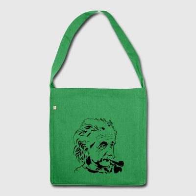Albert Einstein - Shoulder Bag made from recycled material