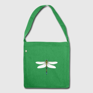 low poly dragonfly - Shoulder Bag made from recycled material