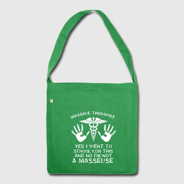 Massage Therapy Hands Physio Gift - Shoulder Bag made from recycled material