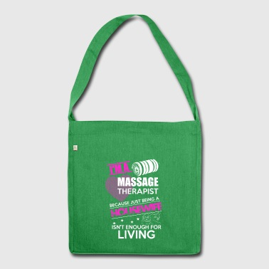 Housewife Massage Physio Gift - Shoulder Bag made from recycled material