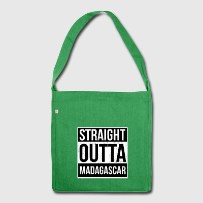Straight outta Madagascar - Shoulder Bag made from recycled material