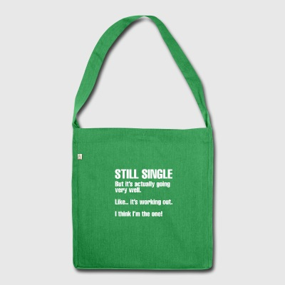 Single - Schultertasche aus Recycling-Material