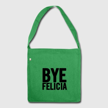 Bye Felicia Black - Shoulder Bag made from recycled material