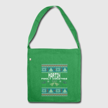 Ugly Martin Christmas Family Vacation Tshirt - Shoulder Bag made from recycled material