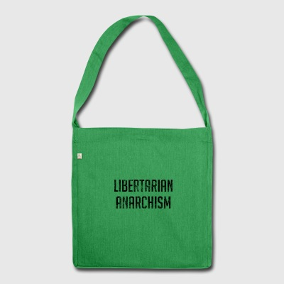 Libertarian Anarchism - Shoulder Bag made from recycled material