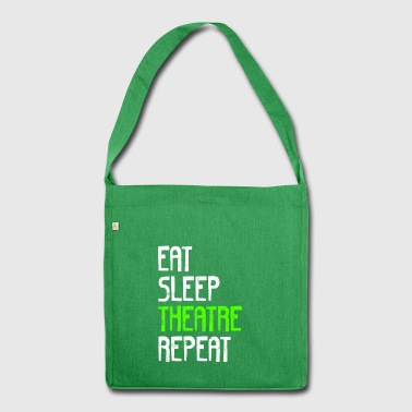 EAT SLEEP REPEAT TEATER - Skuldertaske af recycling-material