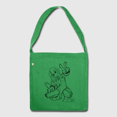 Tsuyu nackt ASUI - Schultertasche aus Recycling-Material
