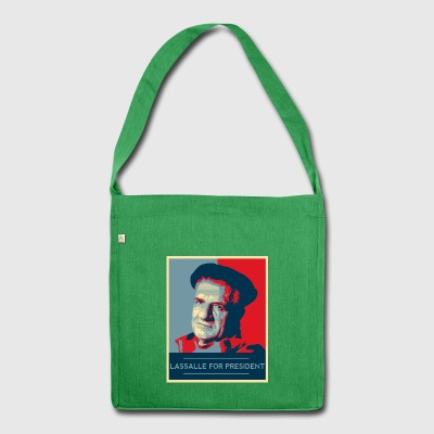 Lassalle-Obama For President - Shoulder Bag made from recycled material