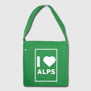 love alps - Shoulder Bag made from recycled material