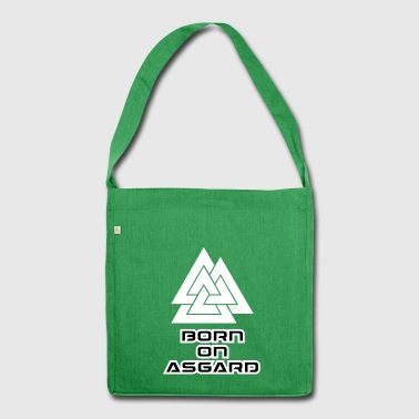 asgard wite - Shoulder Bag made from recycled material