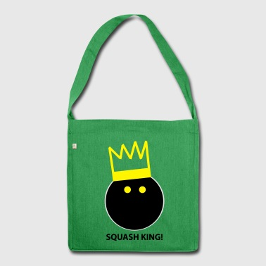 Squash King - Shoulder Bag made from recycled material