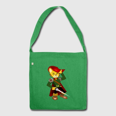 Sir the musketeer cat - Shoulder Bag made from recycled material