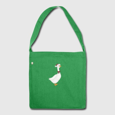 winter goose - Shoulder Bag made from recycled material
