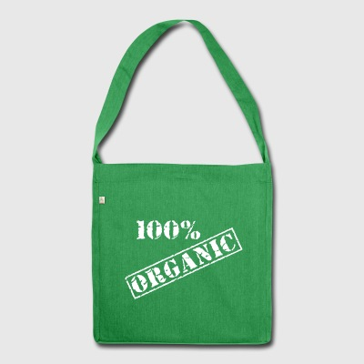 Earth Day 100% Bio - Schultertasche aus Recycling-Material