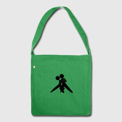 Tango Dancer - Shoulder Bag made from recycled material