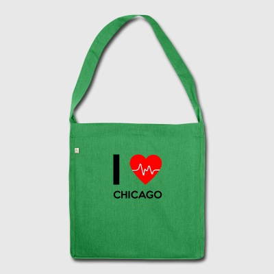 I Love Chicago - I love Chicago - Shoulder Bag made from recycled material
