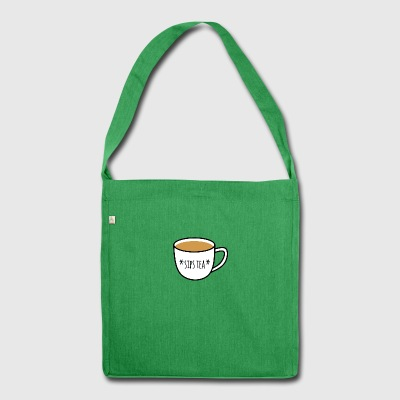 * Sips Tee * - Schultertasche aus Recycling-Material