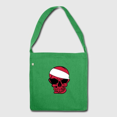 L'anarco Skull anarchia anarchia - Borsa in materiale riciclato