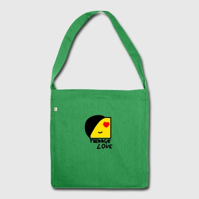 Emo Boy: Teenage Love - Shoulder Bag made from recycled material