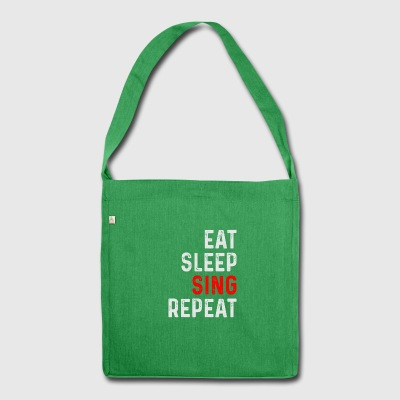 SING REPEAT - Shoulder Bag made from recycled material