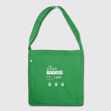 Badass Year of birth wild Christmas 1968 Birth ni - Shoulder Bag made from recycled material