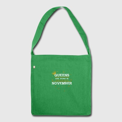 Queensborn NOVEMBER - Shoulder Bag made from recycled material