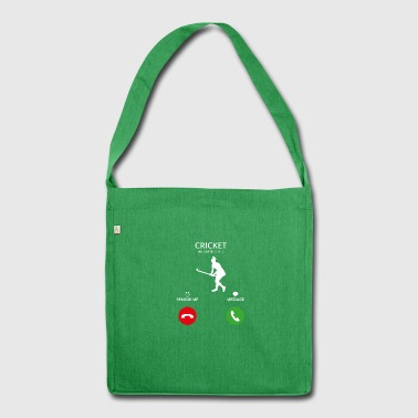 Call Mobile Anruf cricket Kricket thorball - Schultertasche aus Recycling-Material