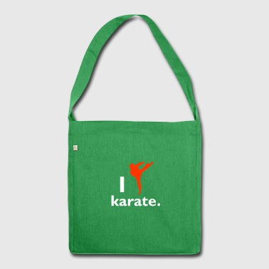 karate - Shoulder Bag made from recycled material