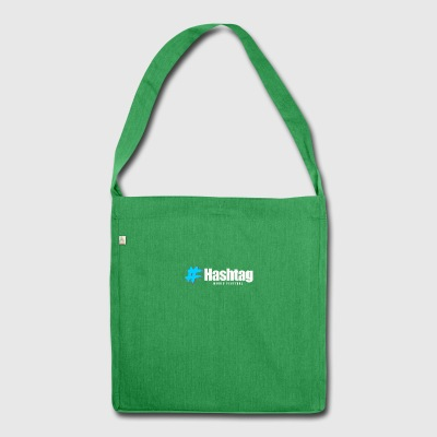 hashtag - Schultertasche aus Recycling-Material
