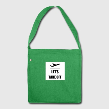 Let's take off - Shoulder Bag made from recycled material