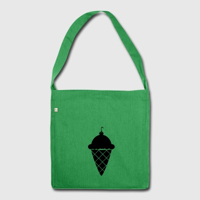 Ice_Cream - Schultertasche aus Recycling-Material