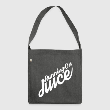 Running on Juice - Shoulder Bag made from recycled material