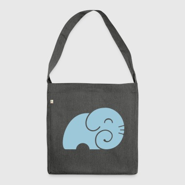 Elephant Body - Shoulder Bag made from recycled material